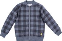 Купить Толстовка для мальчика PlayToday, цвет: серый, черный. 181064. Размер 128, Одежда для мальчиков