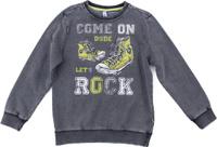 Купить Толстовка для мальчика PlayToday, цвет: серый. 181063. Размер 128, Одежда для мальчиков