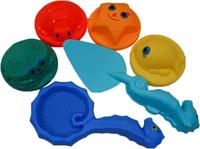 Купить Жирафики Набор для песка Летняя забава 6 предметов, Игрушки для песочницы