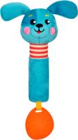 Купить Жирафики Развивающая игрушка Щенок с силиконовым прорезывателем, Прорезыватели