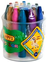 Купить Jovi Мелки восковые круглые 16 цветов, Мелки и пастель