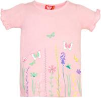 Купить Футболка для девочки Let's Go, цвет: светло-розовый. 5135. Размер 122, Одежда для девочек