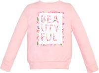 Купить Свитшот для девочки Let's Go, цвет: светло-розовый. 6148. Размер 122, Одежда для девочек