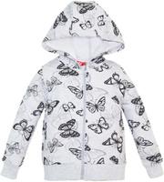 Купить Толстовка для девочки Let's Go, цвет: серый. 6157. Размер 74, Одежда для новорожденных