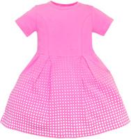 Купить Платье для девочки Let's Go, цвет: розовый. 8126. Размер 92, Одежда для девочек
