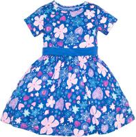 Купить Платье для девочки Let's Go, цвет: темно-синий. 8129. Размер 92, Одежда для девочек