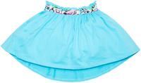 Купить Юбка для девочки Let's Go, цвет: голубой. 8133. Размер 104, Одежда для девочек