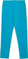 Купить Леггинсы для девочки Let's Go, цвет: темно-бирюзовый. 10181. Размер 140, Одежда для девочек