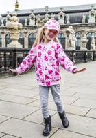 Купить Куртка для девочки Reike, цвет: розовый. 40 870 200_ROS(60) pink. Размер 134, 9 лет, Одежда для девочек