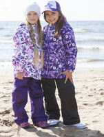 Купить Комплект верхней одежды для девочки Reike, цвет: фиолетовый. 40 555 111_DGF(60) violet. Размер 110, 5 лет, Одежда для девочек