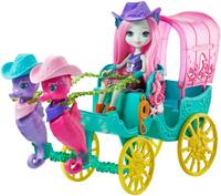 Купить Enchantimals Игровой набор с куклой Карета морских коньков, Куклы и аксессуары