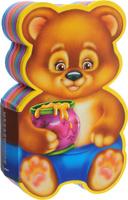 Купить Медвежонок. Книжка с мягкими пазлами, Первые книжки малышей