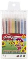 Купить Play-Doh Мелки восковые выдвижные 8 цветов, Мелки и пастель