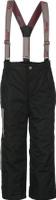 Купить Брюки утепленные для мальчика Oldos Active Сириус, цвет: черный. 3A8PT27. Размер 98, 3 года, Одежда для мальчиков
