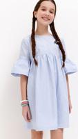 Купить Платье для девочки Acoola Tuliana, цвет: голубой. 20210200221_400. Размер 134, Одежда для девочек
