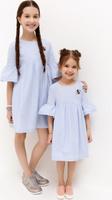 Купить Платье для девочки Acoola Tuliana, цвет: голубой. 20220200244_400. Размер 104, Одежда для девочек