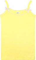 Купить Майка для девочки Let's Go, цвет: светло-желтый. 2149. Размер 98/104, Одежда для девочек
