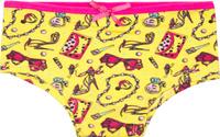 Купить Трусы для девочки Let's Go, цвет: желтый. 1256. Размер 98/104, Одежда для девочек