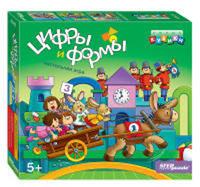 Купить Step Puzzle Развивающая игра Умные кубики Цифры и формы, Обучение и развитие