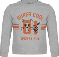 Купить Свитшот для мальчика Sela, цвет: серый меланж. St-713/093-8122. Размер 110, 5 лет, Одежда для мальчиков