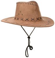 Купить Маскарадная шляпа Ковбой , цвет: светло-коричневый. 31335, Феникс-Презент, Карнавальные костюмы и аксессуары