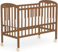 Купить Фея Кровать детская цвет орех 0003018-02, Кроватки и колыбели