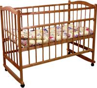 Купить Фея Кровать детская цвет орех 0005512-02, Кроватки и колыбели