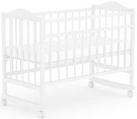 Купить Фея Кровать детская цвет белый 0005512-03, Кроватки и колыбели