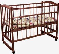 Купить Фея Кровать детская цвет палисандр 0005512-05, Кроватки и колыбели