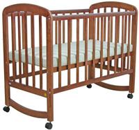 Купить Фея Кровать детская цвет орех 0005514-02, Кроватки и колыбели