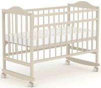 Купить Фея Кровать детская цвет бежевый кромка венге, Кроватки и колыбели