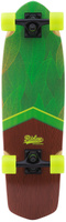 Купить Круизер Ridex Eco , цвет: зеленый, желтый, 74 х 20, 5 см, ABEC-5, Скейтборды и пенни борды