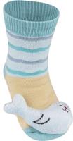 Купить Носки детские Soxo Белек, цвет: бежевый. 84858. Размер 19/21, Одежда для девочек