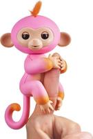 Купить Fingerlings Интерактивная игрушка Обезьянка Саммер цвет розовый оранжевый 12 см, WowWee, Интерактивные игрушки
