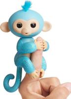 Купить Fingerlings Интерактивная игрушка Обезьянка Амелия цвет изумрудный 12 см, WowWee, Интерактивные игрушки