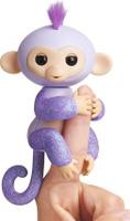 Купить Fingerlings Интерактивная игрушка Обезьянка Кики цвет светло-пурпурный 12 см, WowWee, Интерактивные игрушки