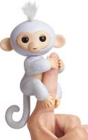Купить Fingerlings Интерактивная игрушка Обезьянка Шугар цвет белый 12 см, WowWee, Интерактивные игрушки