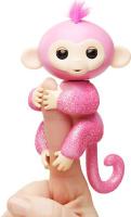 Купить Fingerlings Интерактивная игрушка Обезьянка Роза цвет розовый 12 см, WowWee, Интерактивные игрушки