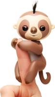 Купить Fingerlings Интерактивная игрушка Ленивец Кингсли цвет коричневый 12 см, WowWee, Интерактивные игрушки