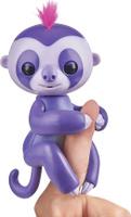 Купить Fingerlings Интерактивная игрушка Ленивец Мардж цвет пурпурный 12 см, WowWee, Интерактивные игрушки