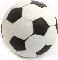 Купить Эврика Ластик Футбольный мяч №1 цвет белый, Чертежные принадлежности