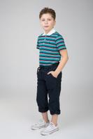 Купить Брюки для мальчика Baon, цвет: темно-синий. BJ798003_Deep Navy. Размер 146/152, Одежда для мальчиков