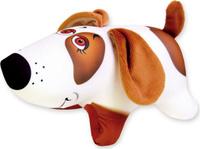 Купить Подушка-игрушка антистрессовая Штучки, к которым тянутся ручки Собака Белка . 14аси32мив, Мягкие игрушки