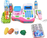 Купить ABtoys Игровой набор Касса Помогаю Маме 42 предмета, Сюжетно-ролевые игрушки