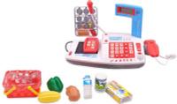 Купить ABtoys Игровой набор Касса Помогаю Маме 40 предметов 106975, Сюжетно-ролевые игрушки