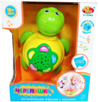 Купить ABtoys Развивающая игрушка Черепашка со световыми и звуковыми эффектами, Развивающие игрушки