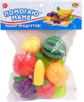 Купить ABtoys Набор продуктов для резки Помогаю Маме 16 предметов 108750, Сюжетно-ролевые игрушки