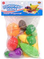 Купить ABtoys Набор продуктов для резки Помогаю Маме 16 предметов 108751, Сюжетно-ролевые игрушки