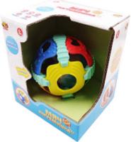 Купить ABtoys Мяч погремушка 2 в 1 со световыми и звуковыми эффектами, Первые игрушки