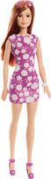 Купить Barbie Кукла Куклы в модных платьях цвет платья фиолетовый, Куклы и аксессуары